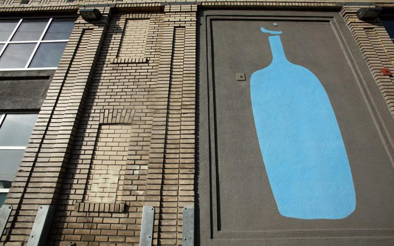Blue Bottle Coffeeの外観