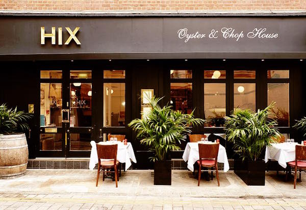 Hix Oyster and Chophouseの店頭