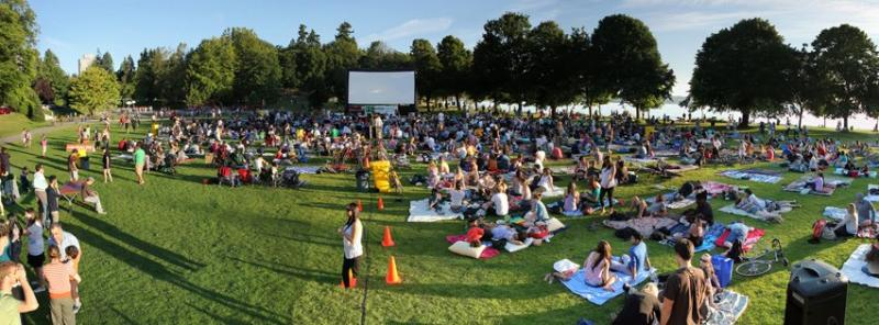 FREE Outdoor Movie Events in BC