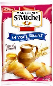 St Michel Madeleine 17.64oz / 500g - Made in France