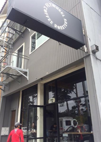 Flywheel Coffee Roastersの外観