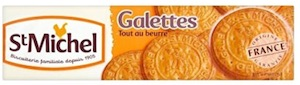 St Michel Galettes Biscuits (130g) (4 PACK)