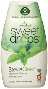 Amazon.com:SweetLeaf Sweet Drops Liquid Stevia Sweetener, SteviaClear, 1.7 Ounce