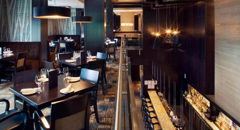 The Keg Steakhouse + Bar Yaletownの店内