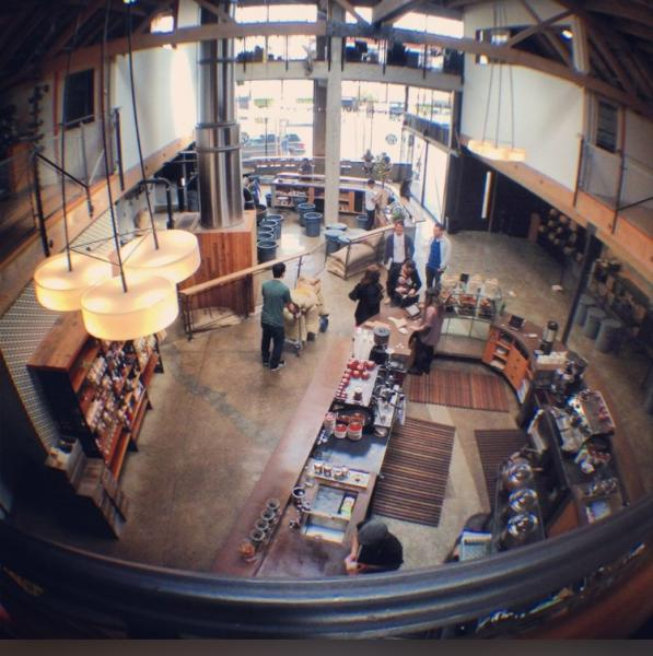 Sightglass Coffeeの店内