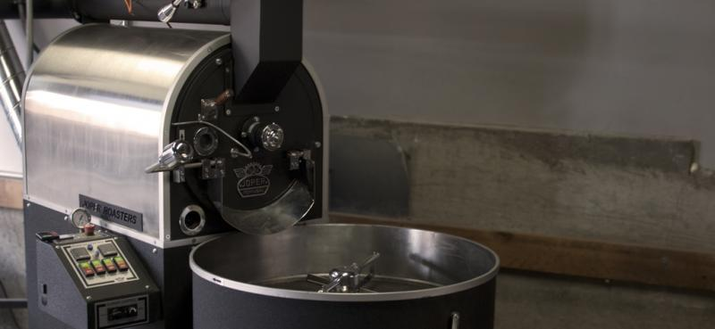 Flywheel Coffee Roastersの焙煎機