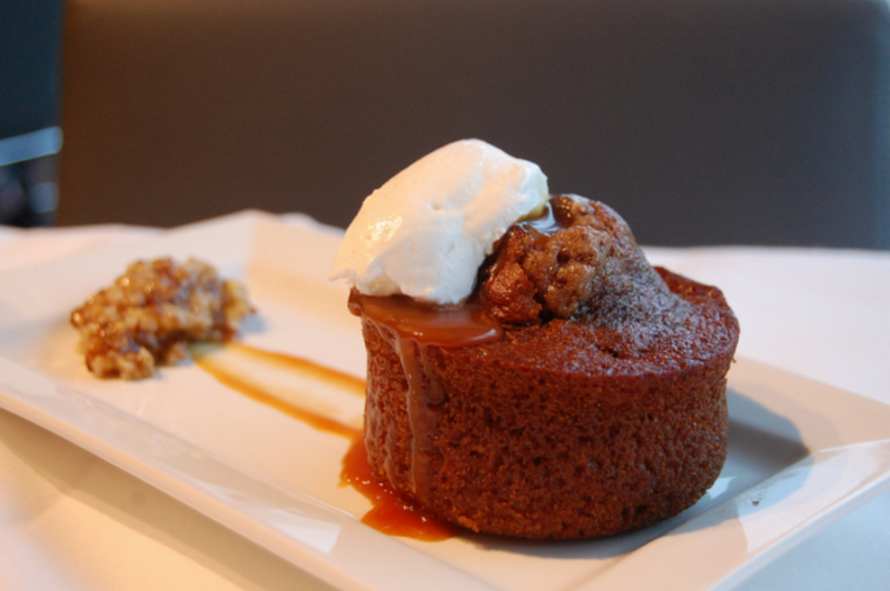 Sticky toffee puddingの写真です