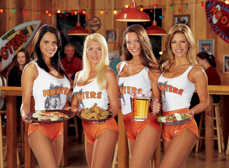 Hootersの写真です