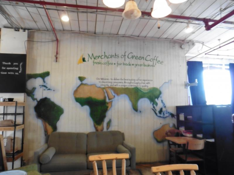 Merchants of Green Coffeeの店内