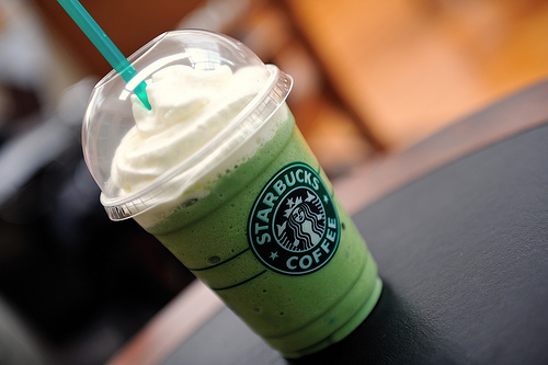 StarbucksのGreen Tea