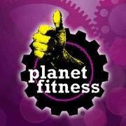 Planet Fitnessのロゴ