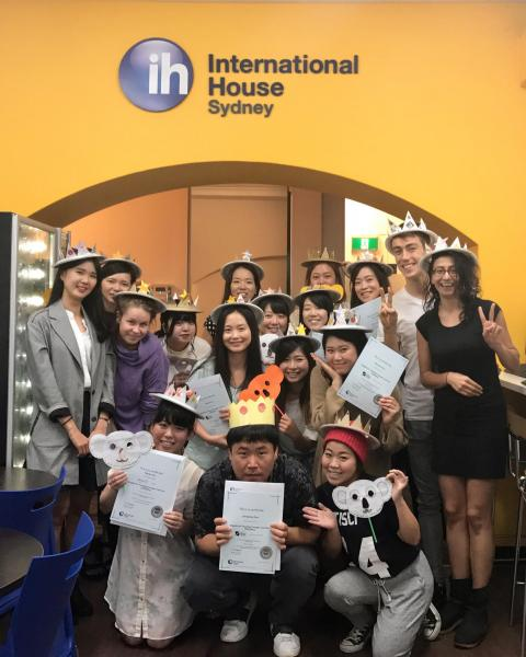 International House Sydney Language Schoolの様子