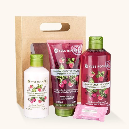 YVES ROCHER Collection Energie - Framboise Menthe Poivrée