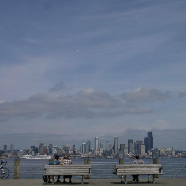 West SeattleのAlki Beach