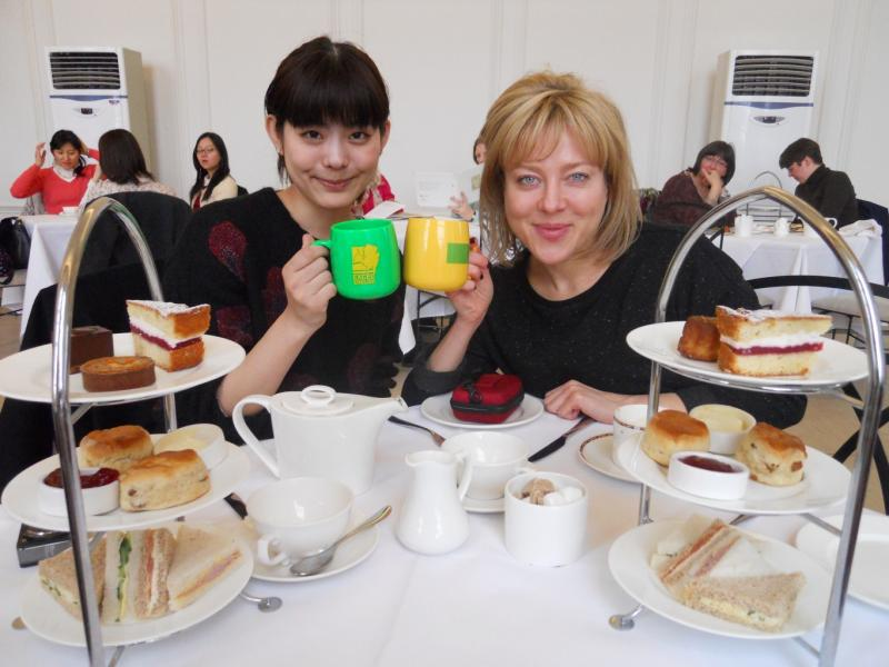 Excel English・London Tea Experience