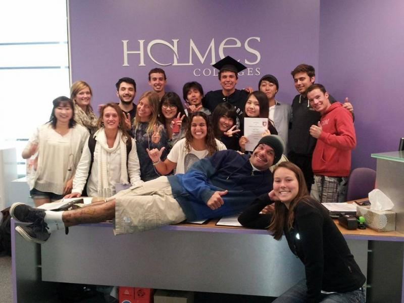 Holmes Instituteの様子