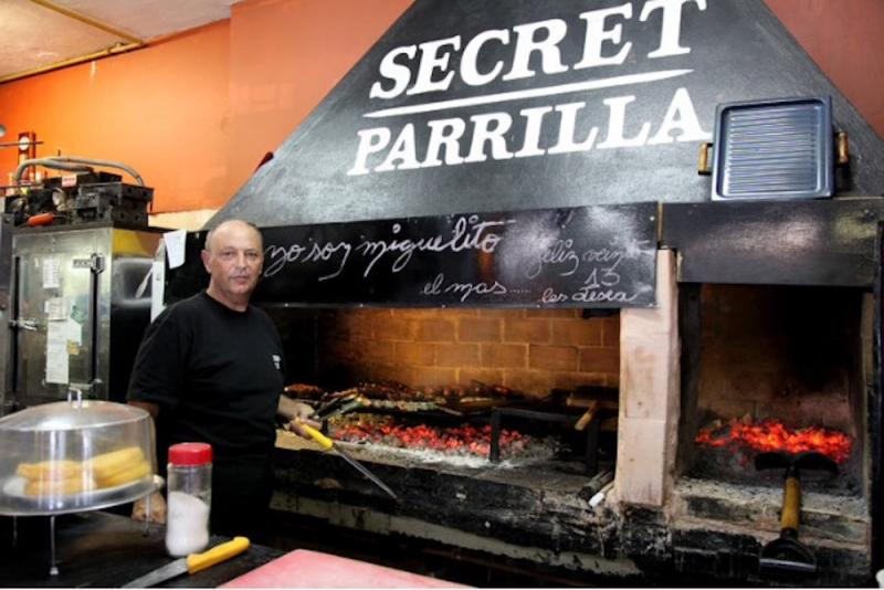 Secret Parilla