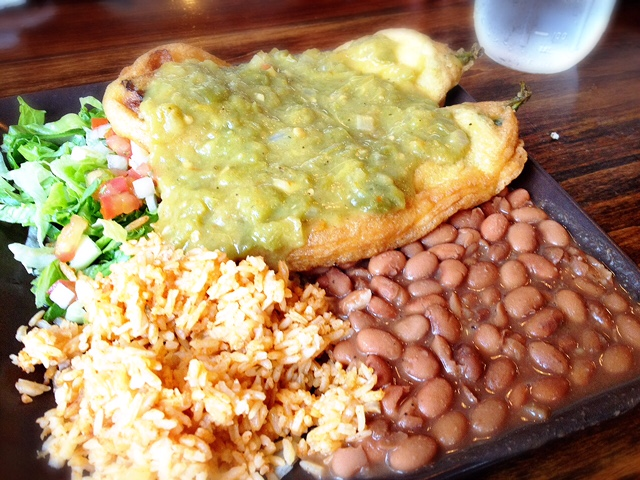 Green Chile KitchenのChile Relleno