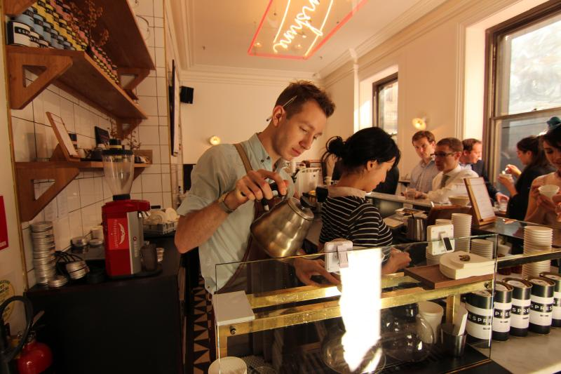 Patricia Coffee Brewersnoの店内