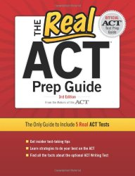 ACTのオススメ参考書「The Real ACT Prep Guide」です。