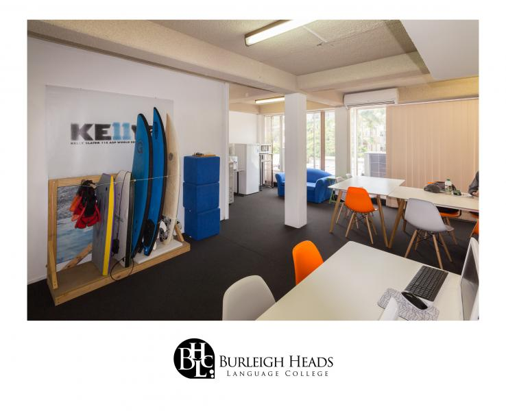 Burleigh Heads Language Collegeの校内